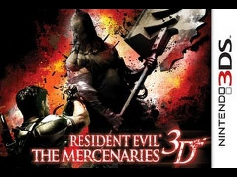 Resident Evil: Mercenaries 3D Game Review