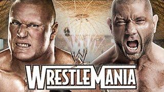 getlinkyoutube.com-Brock Lesnar vs Batista Wrestlemania 31 Promo HD