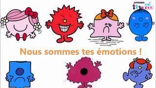 Les 7 émotions de l'enfant