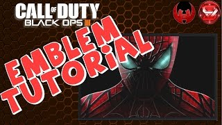 Spider Man - Black Ops 3 Emblem Tutorial