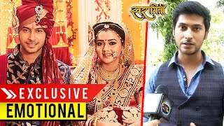 getlinkyoutube.com-EXCLUSIVE : Lakshya Gets EMOTIONAL On Sets | Swaragini