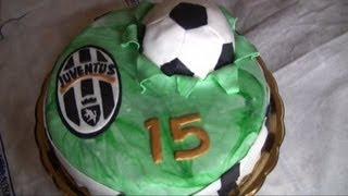 getlinkyoutube.com-Torta pallone da calcio,TUTORIAL SEMPLICE e VELOCE