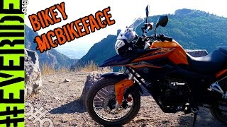 """getlinkyoutube.com-NEW CHINESE """"DUAL SPORT"""" MOTORCYCLE REVEAL! Zongshen CSC RX3 Cyclone 250 #everide"""