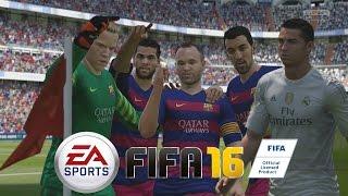 getlinkyoutube.com-FIFA 16 - Probando la Demo - Barcelona Vs Real Madrid, el día de los Penalties
