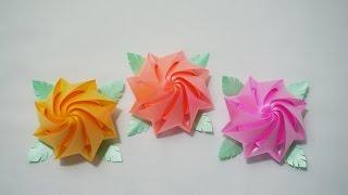 getlinkyoutube.com-สอนพับเหรียญโปรยทาน ดอกแดฟโฟดิล (Narzissen - Narcissus หรือ Daffodils)