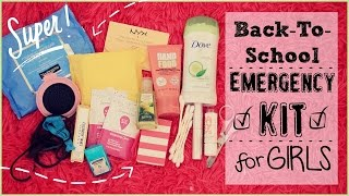getlinkyoutube.com-Back To School Emergency Kit For Girls♡