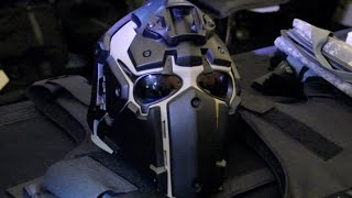 getlinkyoutube.com-Ronin Ballistic Helmet - Shotshow 2016