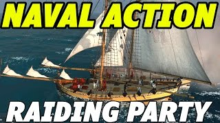 getlinkyoutube.com-Naval Action - Gameplay - Raiding Capturing And Boarding Ships