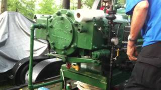 getlinkyoutube.com-20hp Superior hit miss antique hit and miss gasoline engine