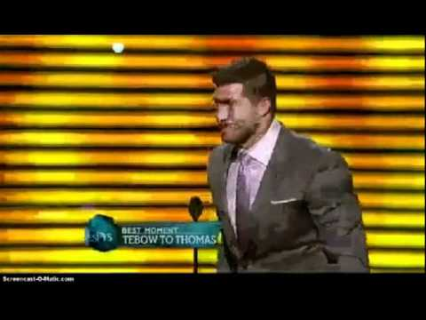 Tim Tebow Wins Best Moment at 2012 ESPYS Awards