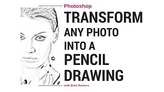 Download Video Turn A Photo Into A Pencil Sketch In
