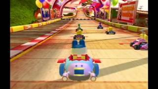 getlinkyoutube.com-[Arcade] Mario Kart Arcade GP 2 - Mario Cup -150cc