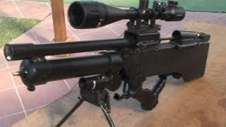getlinkyoutube.com-Homemade pre charged air rifle, airsoft gun sniper rifle