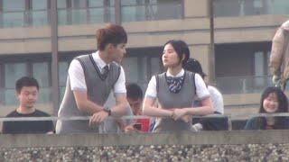 getlinkyoutube.com-150516 Wu Yifan (feat Liu Yifei) SYSH filming break