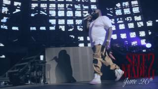 Rick Ross @ Club Paradise Tour (Meek Mill & French Montana Get Fitted For Grillz By Paul Wall)