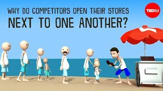 Why do competitors open their stores next to one another? - Jac de Haan width=