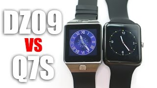 getlinkyoutube.com-DZ09 vs Q7S: A Comparison of Smartwatches with MTK6260A Chipset