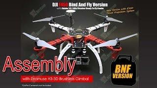 getlinkyoutube.com-DJI F450 + NAZA-M V2 + H3-3D Part 2: Assembly (Сборка)