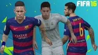 getlinkyoutube.com-FIFA 16 Player Tattoos Update Ft. Neymar, Rodríguez, Moreno and Alves