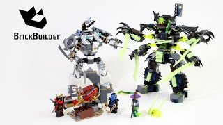 getlinkyoutube.com-Lego Ninjago 70737 Titan Mech Battle - Lego Speed build