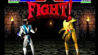 getlinkyoutube.com-Mortal Kombat 4 (PlayStation) Arcade as Raiden
