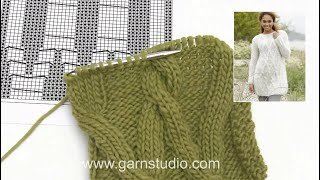 getlinkyoutube.com-DROPS Knitting Tutorial: How to work chart after chart A.4 for the jumper in DROPS 173-17