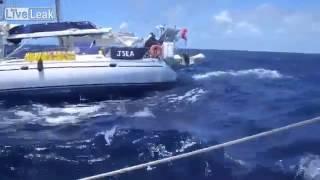 getlinkyoutube.com-Yacht sinking