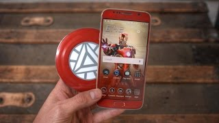getlinkyoutube.com-DIY $25 Galaxy S6 Iron Man Edition!