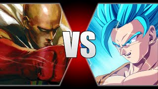 getlinkyoutube.com-Final Answer: Saitama vs Goku! Analysation and Strength stats