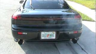getlinkyoutube.com-Dodge Stealth RT/TT Exhaust and Turbo xs BOV