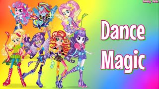 getlinkyoutube.com-Equestria Girls Friendship Games | Dance Magic (Lyrics) (+Sub Español)