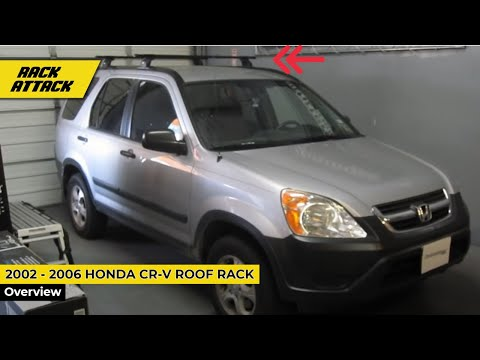 Acura Bellevue on 2002   2006 Honda Cr V With Thule 460 Podium Base Roof Rack By Rack