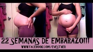 getlinkyoutube.com-22 SEMANAS DE EMBARAZO (5 MESES DE EMBARAZO)!!!