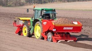 Grimme GL 32 B potato planter with front fertiliser