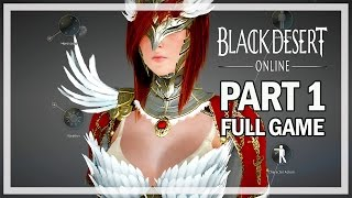 getlinkyoutube.com-Black Desert Online Walkthrough Part 1 Valkyrie - Full Game Let's Play Gameplay