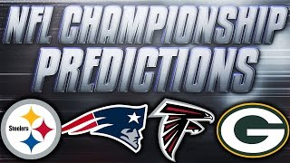 getlinkyoutube.com-NFL AFC + NFC Championship Predictions! Who's Going To The SuperBowl?