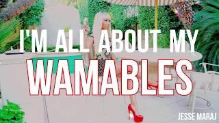 Nicki Minaj - Wamables (Lyrics Video)