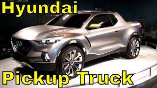 getlinkyoutube.com-Hyundai Santa Cruz Crossover Pickup Truck Concept