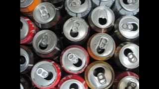 getlinkyoutube.com-Placa solar casera - Brico-Reciclaje-Reciclatge -Solar air heater  (Beverage can recycling)
