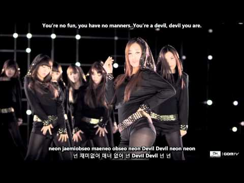 SNSD (Girls' Generation) - Run Devil Run MV [English subs + Romanization + Hangul] 1080p