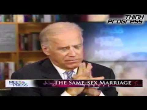 Joe Biden endorses marraige equality