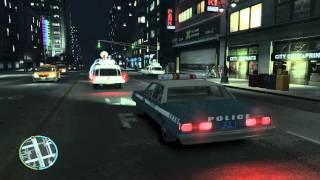 getlinkyoutube.com-TRIBUTE Ghostbusters in GTA IV Using Ecto-1 -HD-