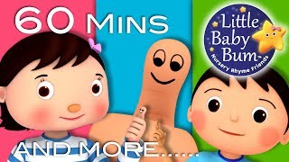 Where Is Thumbkin? | Plus Lots More Nursery Rhymes | 60 Minutes Compilation from LittleBabyBum!