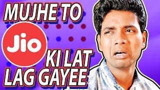 Mujhe To Jio Ki Lat Lag Gayee | Hindi Comedy Video | Pakau TV Channel