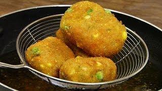 getlinkyoutube.com-Veggie Nuggets | Crispy, Healthy - Loaded with Crunchy Veggies | Snack ON!