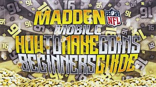getlinkyoutube.com-How To Make Coins In Madden Mobile Beginners Guide! Coin Making Madden Mobile 16