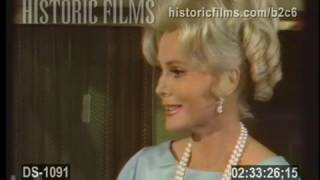 A VISIT TO ZSA ZSA GABOR's BEDROOM ( & HOUSE!) 1967