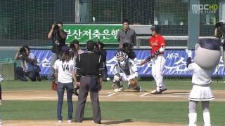 getlinkyoutube.com-SNSD 1st Pitch (Taeyeon, Sunny, Tiffany, Jessica, Yoona, Seohyun, Yuri)