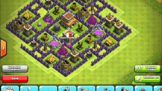 getlinkyoutube.com-Clash of Clans - Town Hall 8 Hybrid Base Design I