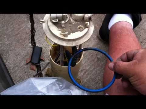 Fixing fuel pump